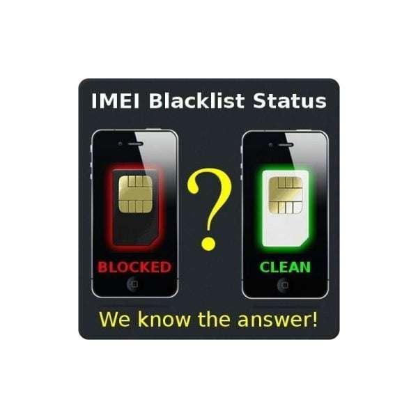 Check Blacklist Worldwide (iPhone, Samsung, Nokia, HTC, LG, ZTE, Blackberry, Motorola, Sony Ericsson, Lenovo, etc)